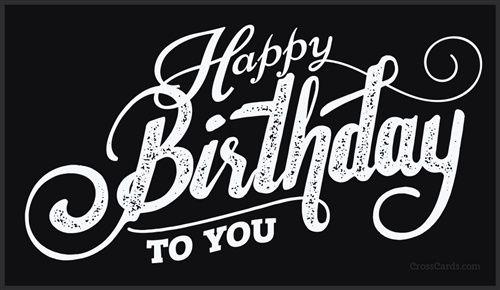 Happy Birthday To You Happy Birthday Logo Birthday Words Happy Birthday To You