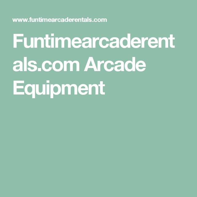 Funtimearcaderentals.com Arcade Equipment