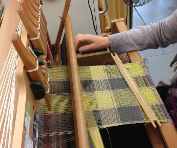 An introduction to the craft of handweaving with Dundee-based weaver Cally Booker. Learn to design and weave your own project.