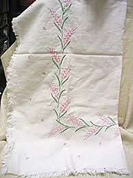 Afbeeldingsresultaat voor antique embroidery tablecloth