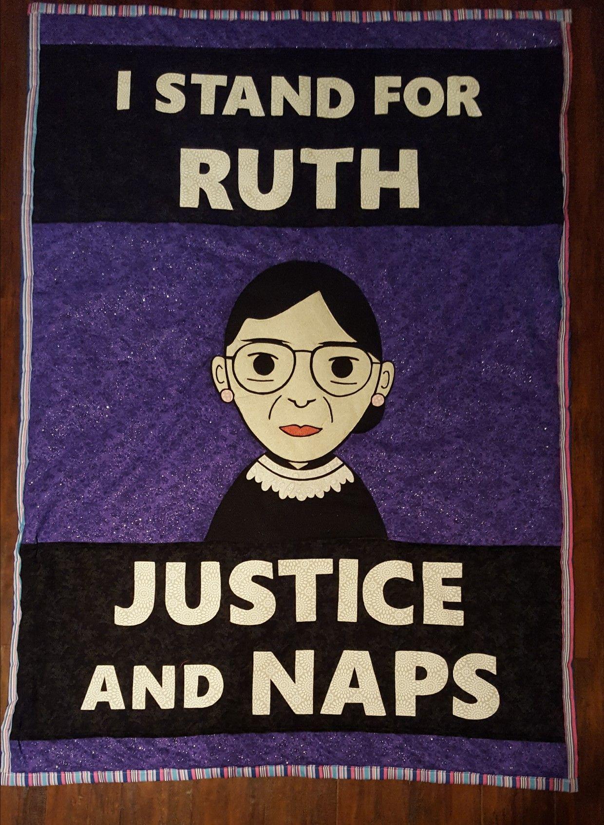 1396c6ddd891 RBG baby blanket, Ruth Bader Ginsburg, cahill158@hotmail.com | i ...