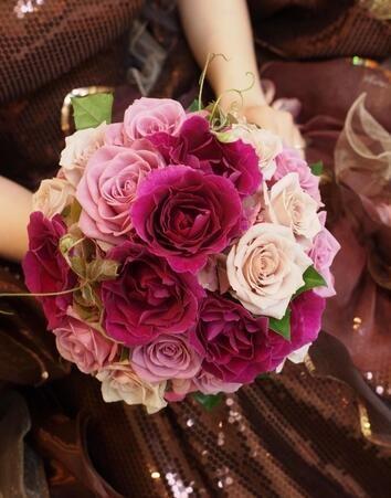 Bridal Bouquet Silk Flowers Cheap Artificial Wedding Bouquets Online