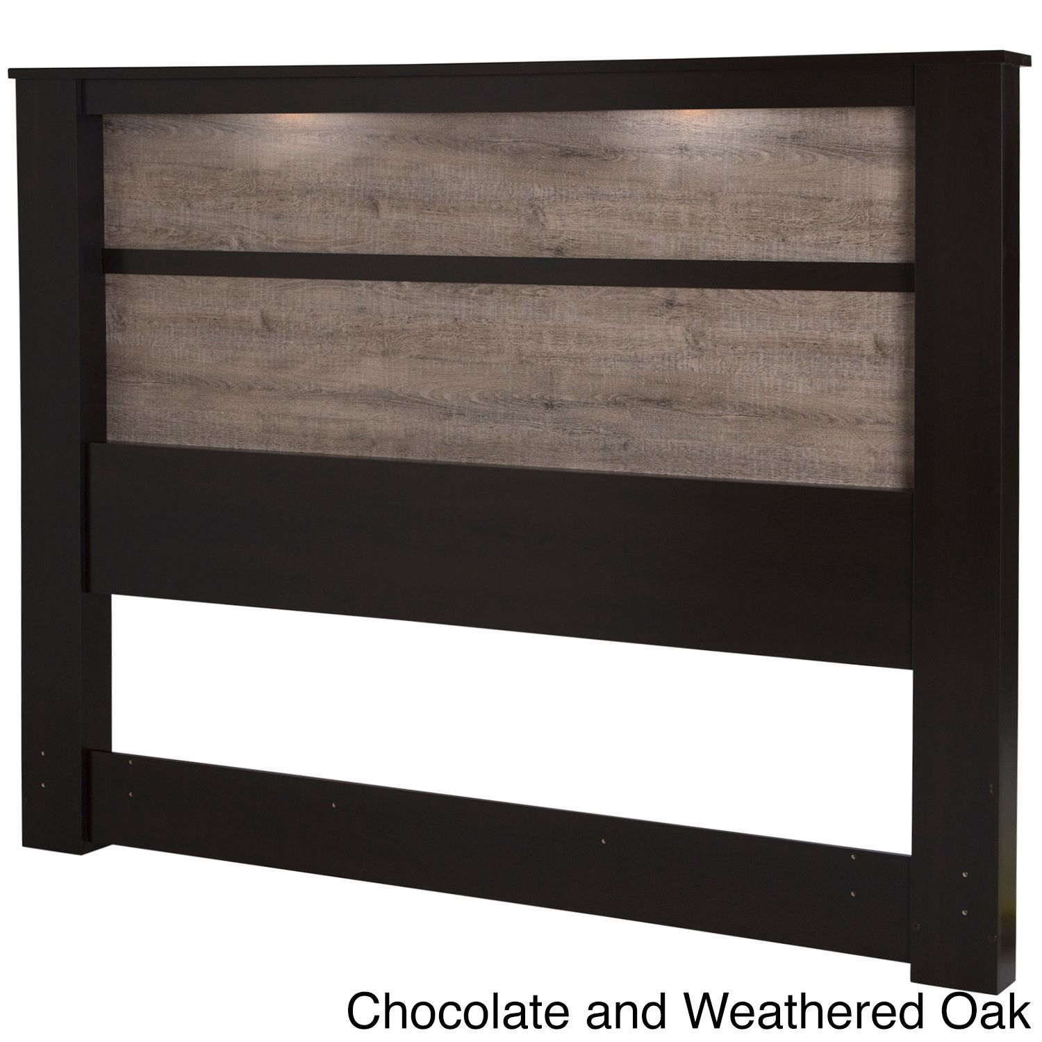 King size wood headboard Black Kingsize Wooden Headboard With Inset Lights chocolate And Weathered Oak Brown Pinterest Kingsize Wooden Headboard With Inset Lights chocolate And