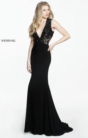 SHERRI HILL 51078. V Neck Prom DressesProm Dresses 2017Fitted ...