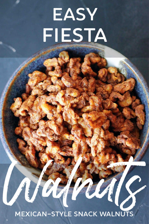 Easy fiesta walnuts recipe in 2020 healthy vegan