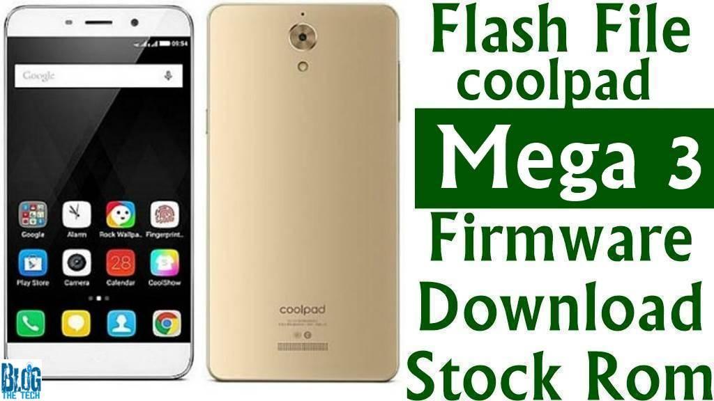 Flash File] Coolpad Mega 3 Firmware Download [Stock Rom