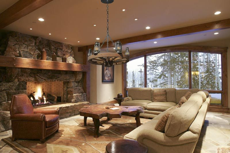 Western Decorating Ideas For Living Rooms Decorating Ideas For Modern Rustic Living Room Rustic Living Room Living Room Lighting Design #rustic #living #room #lighting