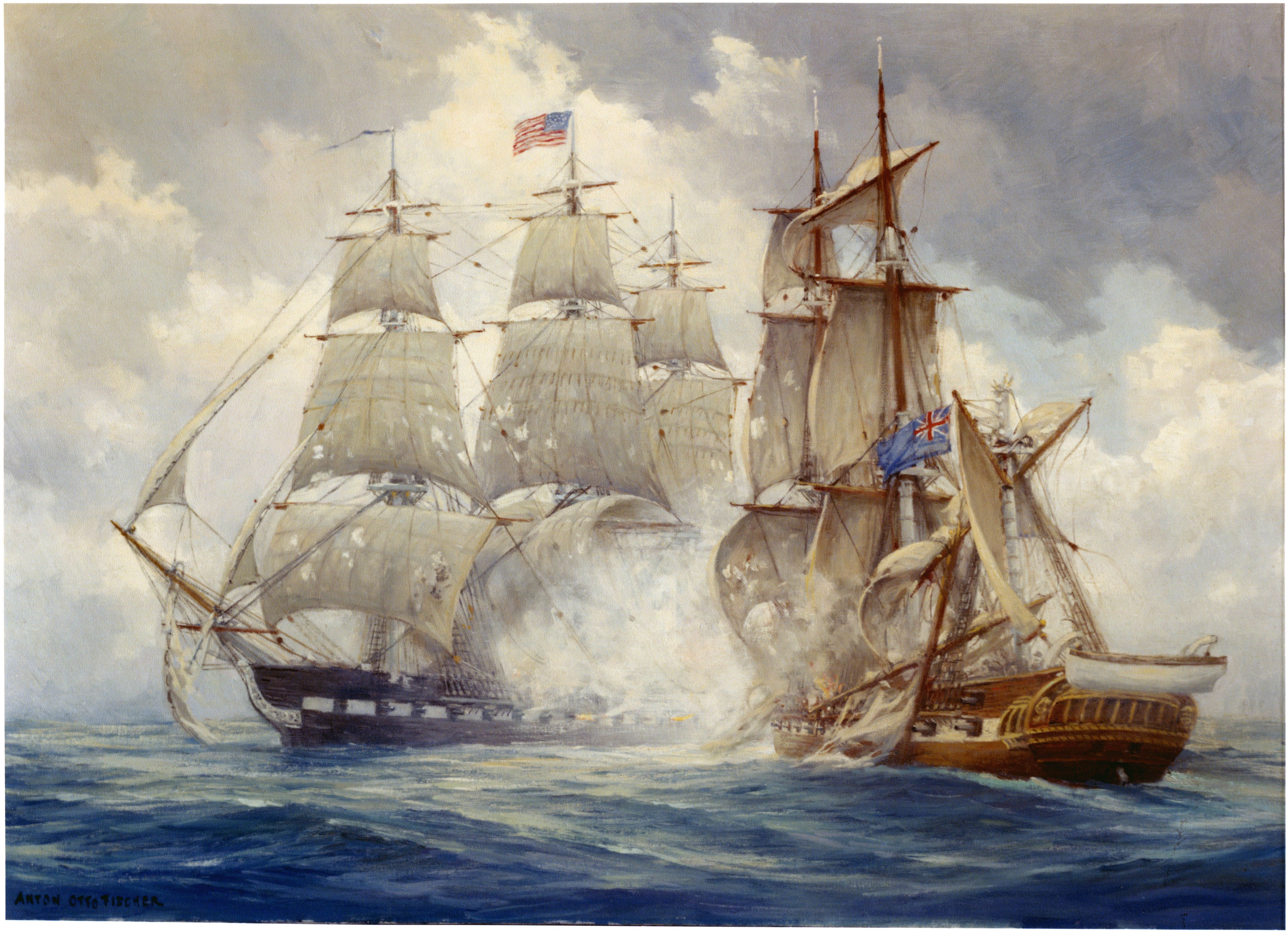 Frigate Uss Constitution Defeats . Java 29