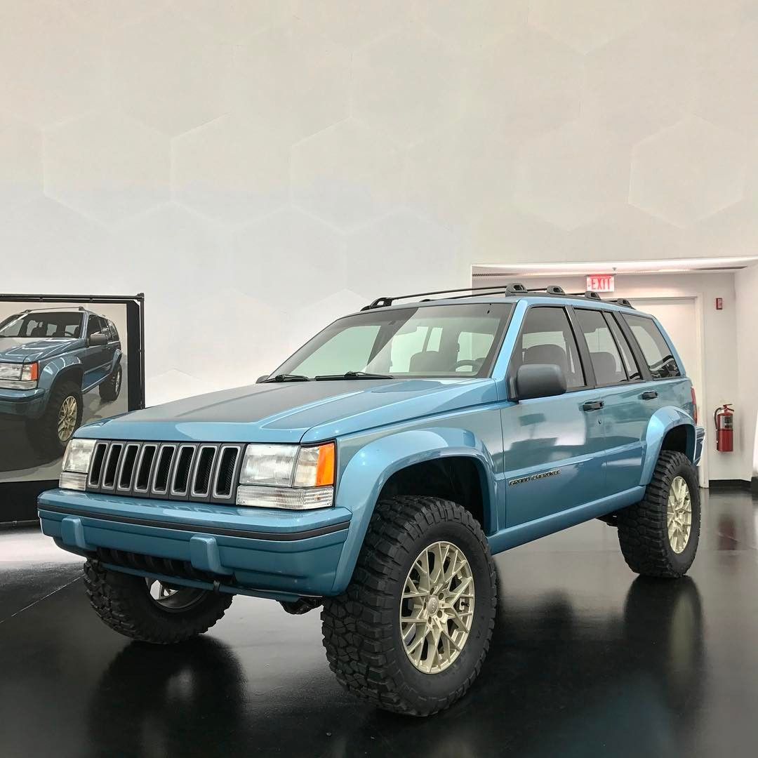 A Tribute To 25 Years Of The Grand Cherokee Jeep