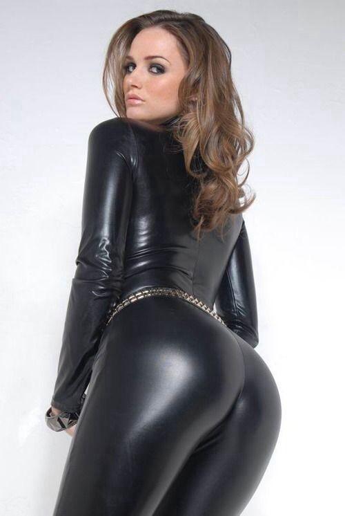 Фото секси девушек в кожаных штанах