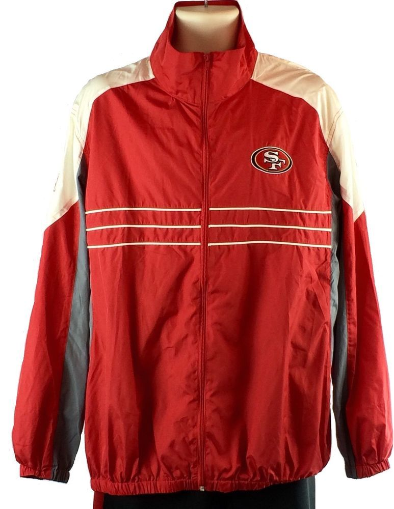competitive price 082f3 e2b8f Mens NFL San Francisco 49ers Sports Illustrated Jacket Size ...