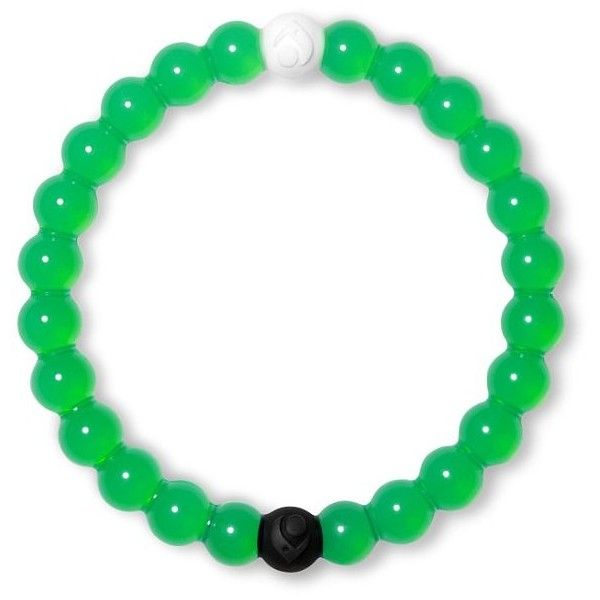 Lokai Balance Bracelet ($20) ❤ liked on Polyvore featuring jewelry, bracelets, green, green jewelry and silicone jewelry