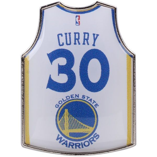 Stephen Curry Golden State Warriors Home Player Jersey Pin