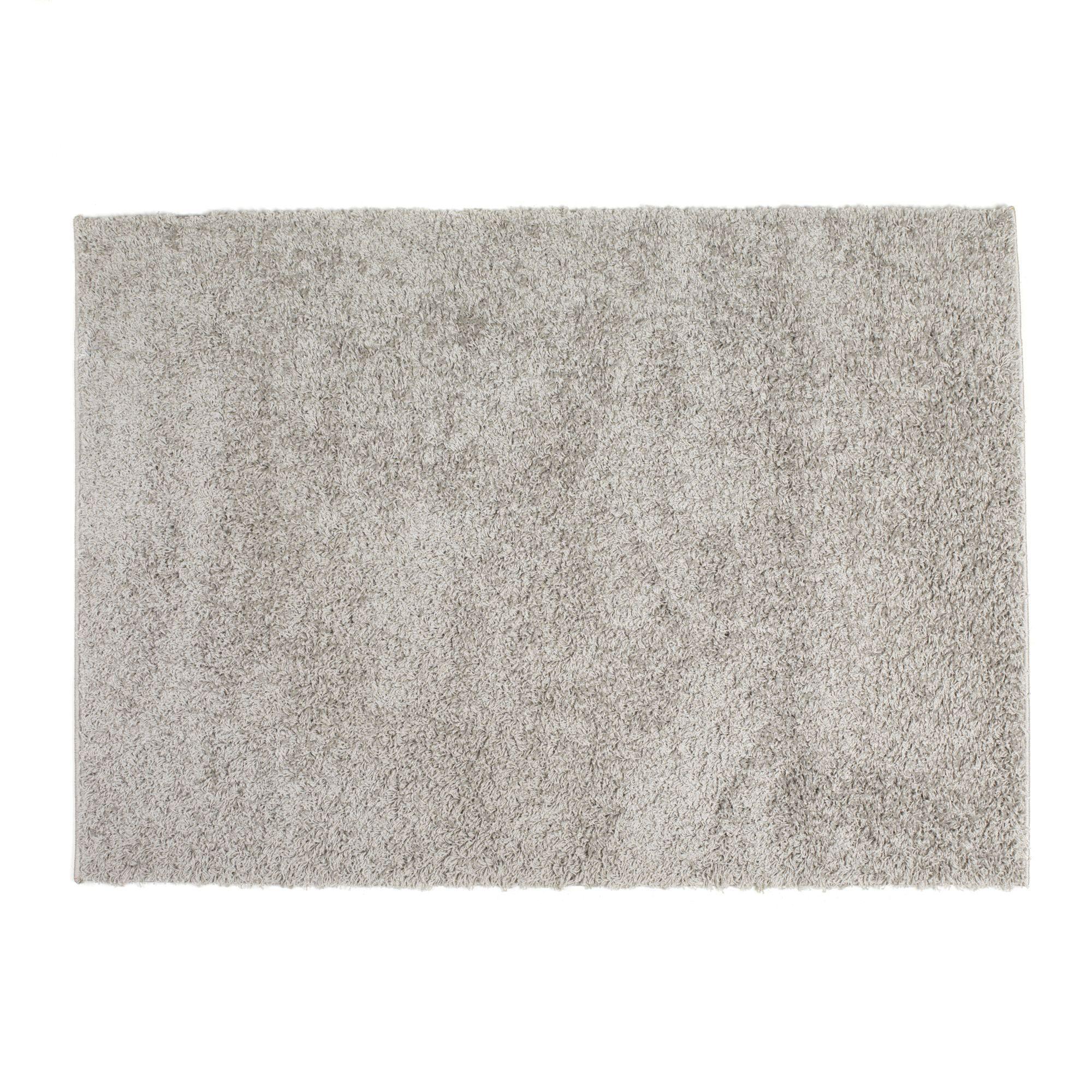 Tapis gris 120x170cm gris domino les tapis textiles - Tapis alinea salon ...