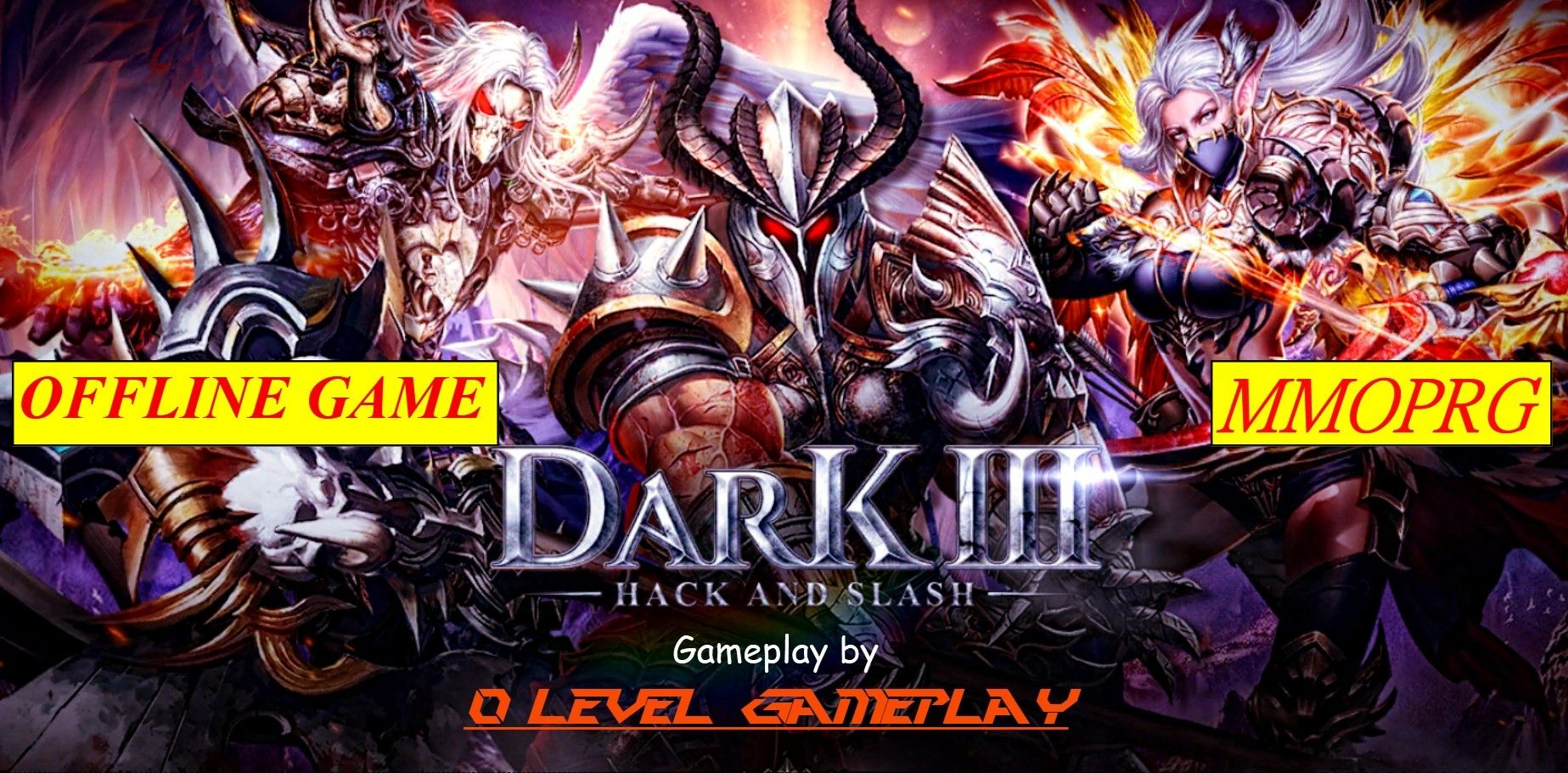 Dark 3 Hack and Slash Gameplay (iOS Android) dark3