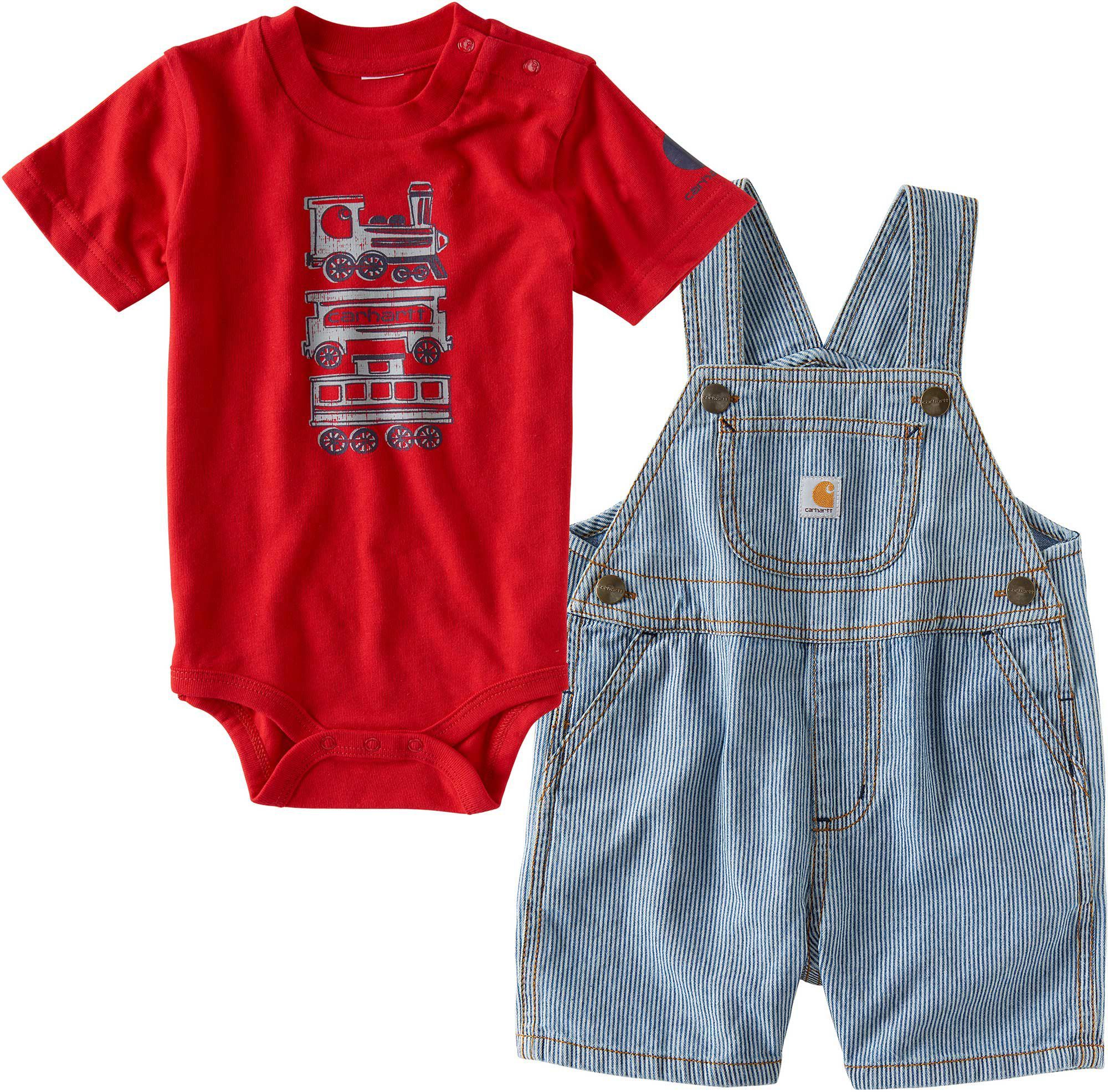 392dac5ece3d Carhartt Infant Boys  Making Tracks Overall Set in 2018