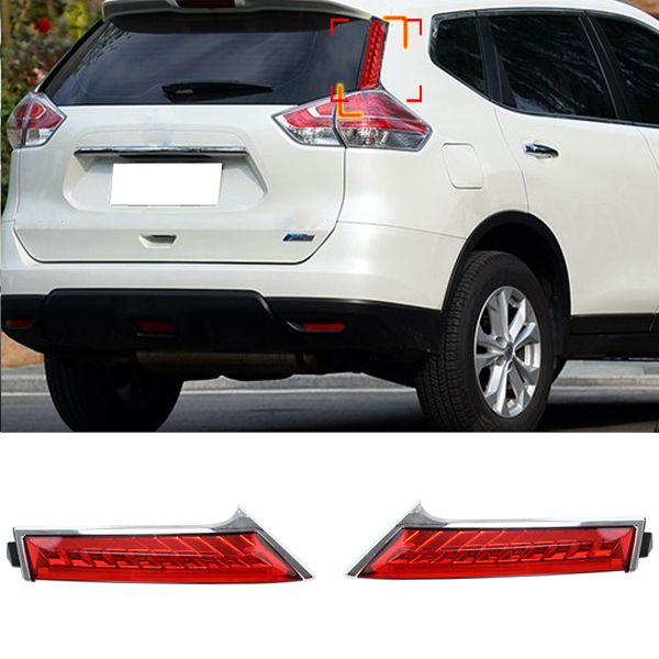Car Rear Brake Lights For Nissan X Trail Rogue 2014 2015 Rear End