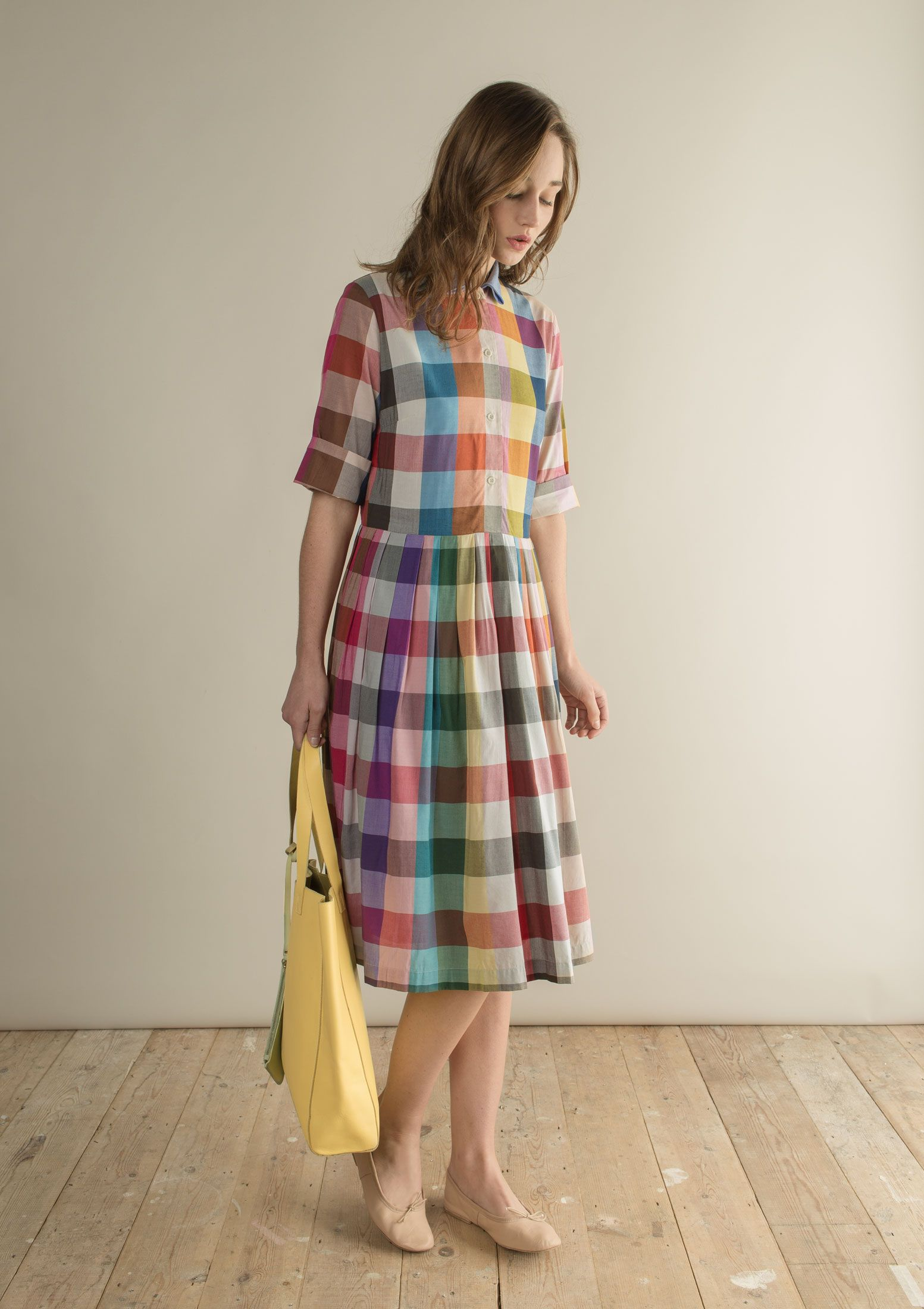 TIPPI PLEATED SHIRT DRESS | TOAST