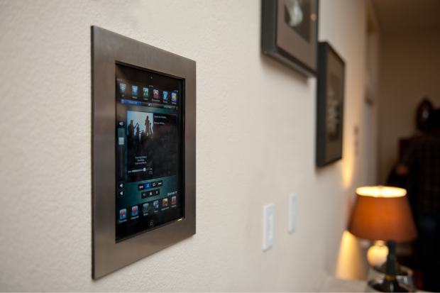 Smart Home Touchscreen Panel For Energy Monitoring And Control