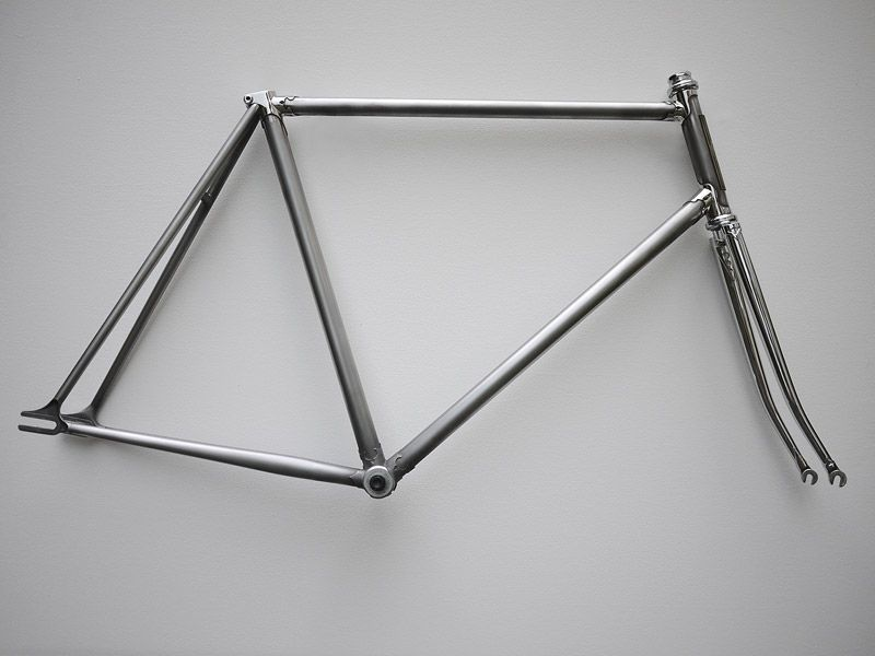 single speed frame brushed steel google zoeken bicycles pinterest steel frames and google
