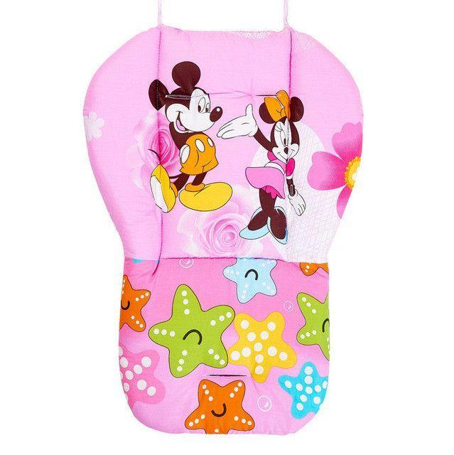Strollers Accessories Hot 2016 New Thick Warm Waterproof Cotton Newborn Cute Cartoon Baby Stroller Seat Pad Baby Stroller Accessories Chair Cushion