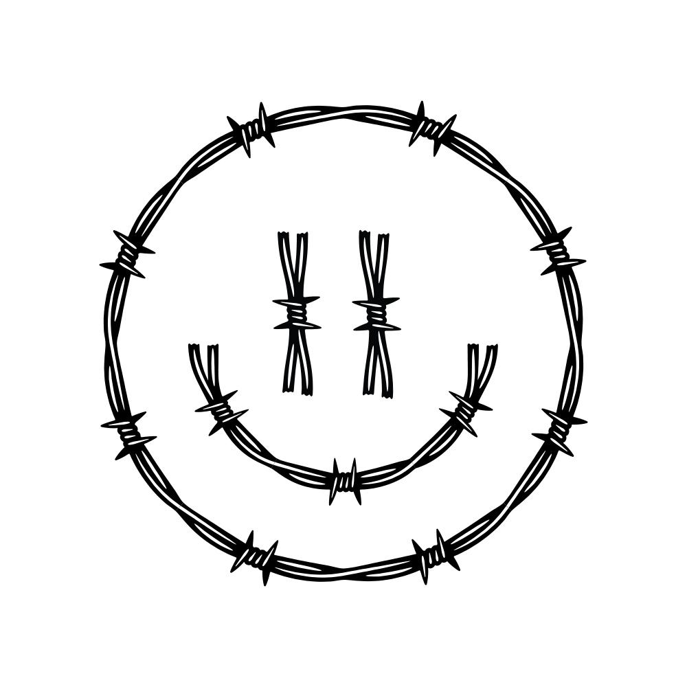 Pin By Sydney Le Fever On G R A P H I C S Barbed Wire Tattoos Barbed Wire Art Barbed Wire Drawing