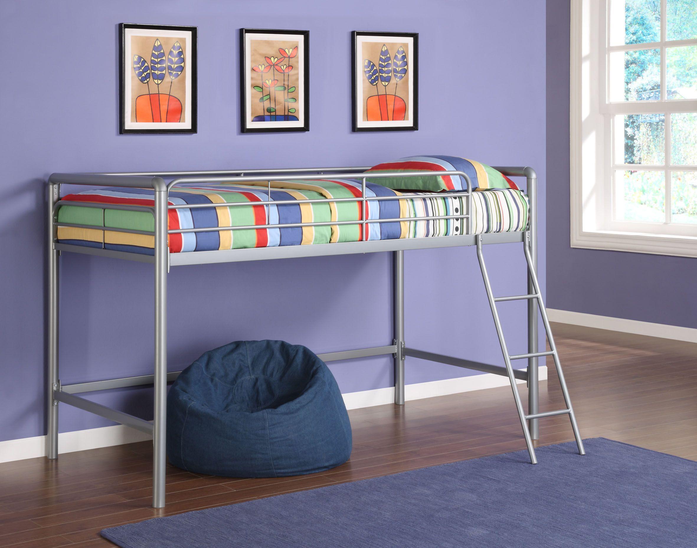 Dorel Home Junior Loft Bed Frame - Twin | BabyNKidMall | Pinterest