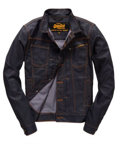 New Mens Superdry Razor Jacket Full Raw In 2020