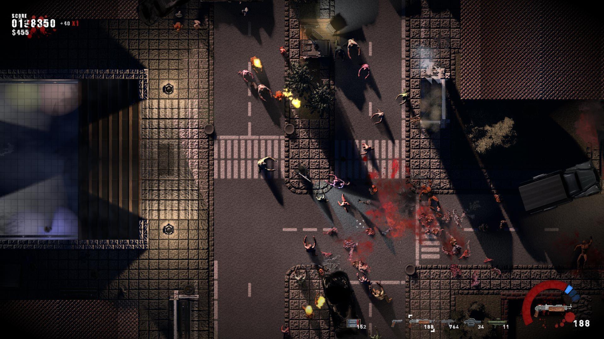 TopDownShooter, FilmNoir, Indie Game, Splatter and