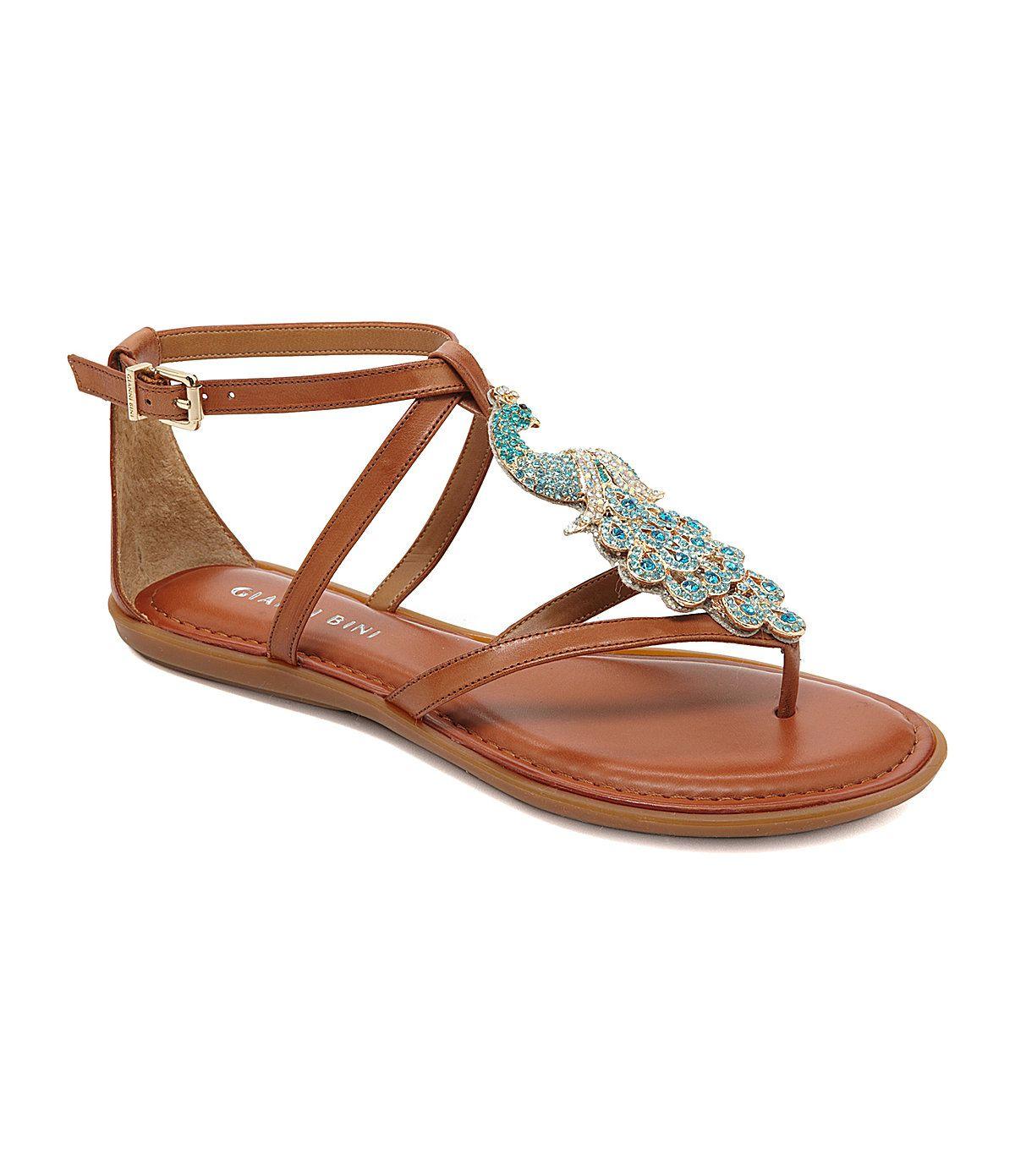 c883976d46d Gianni Bini Indigo Casual Flat Sandals ~ Peacock!!!!!!
