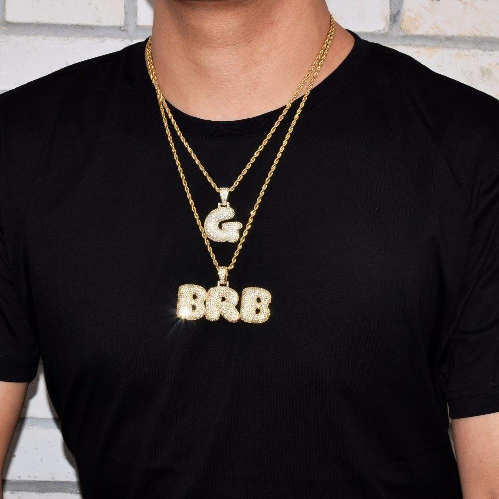 29+ Gold letter pendants for chains ideas