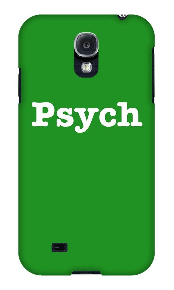 iPhone 5c Psych Phone Case by tstewart3