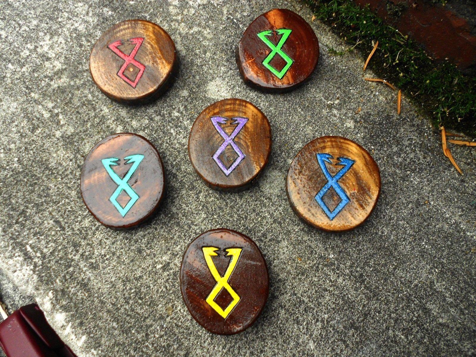 Magnetic Fairy Rune Garden Art Hobbit Elf Gnome Garden Decor Sprite Fae Fairie | eBay