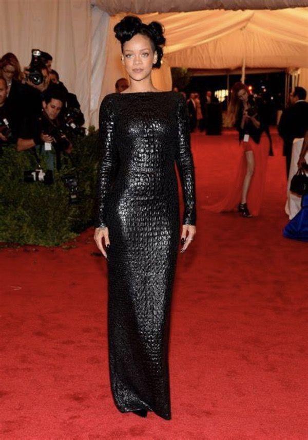 Stunning Photos Of Rihanna Red Carpet Dresses   Rihanna ...
