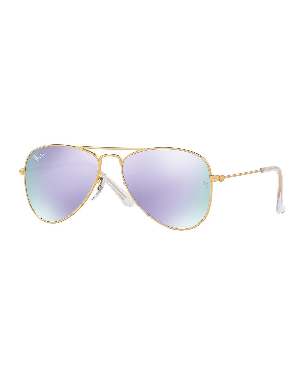 df97eedf1f Iridescent Aviator Sunglasses