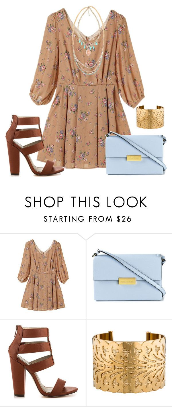 """""""Sin título #1386"""" by nataliac ❤ liked on Polyvore featuring STELLA McCARTNEY, Michael Antonio, Fallon and BKE"""
