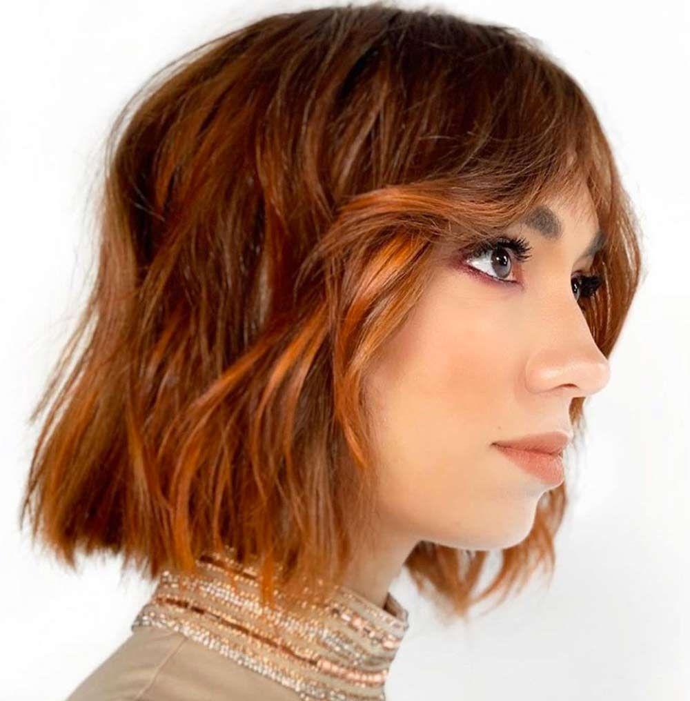 Favoloso Tagli capelli Medi inverno 2020 2021: tendenze in 100 foto nel AK06