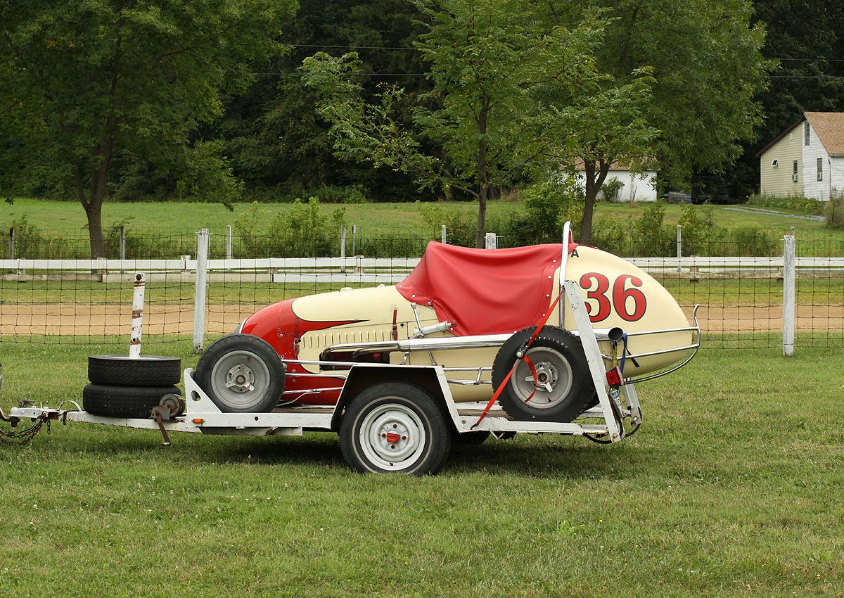 Midget drag racing photo