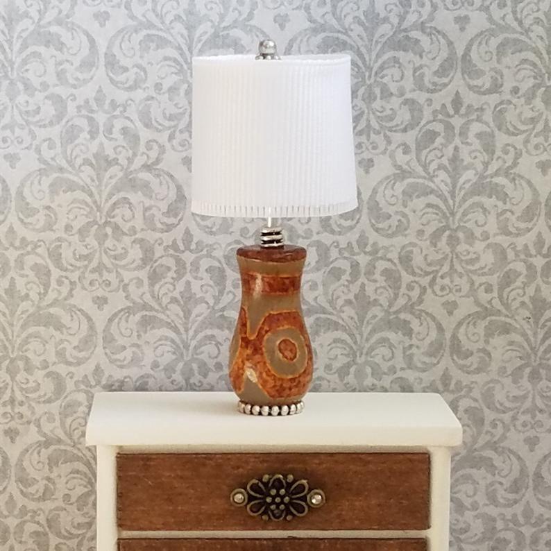 Miniature Lamp Miniature Table Lamp Desk Lamp Dollhouse