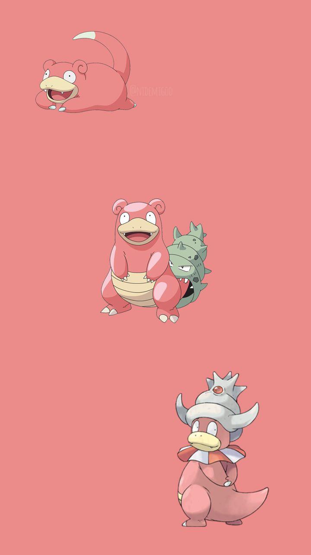 Slowpoke Slowbro E Slowking Pokemon Pokemon People Slowpoke