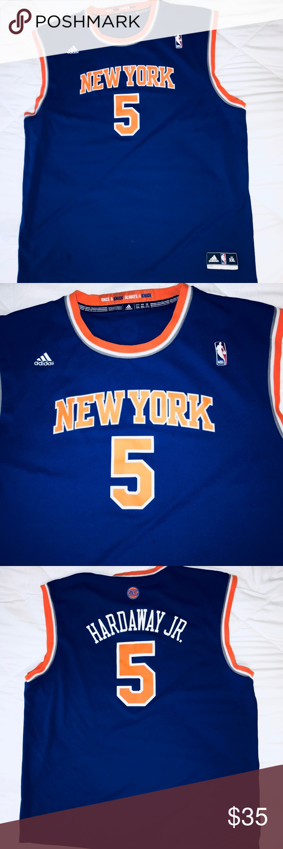 Knicks Jersey New York Knicks Jersey Hardaway 5 Condition 9 10