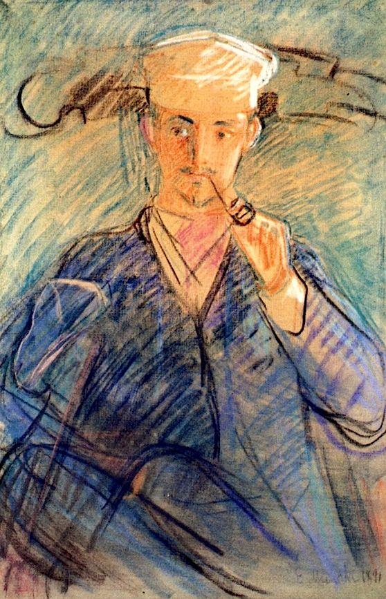 Edvard Munch Norwegian 1863 1944 Helge Rode 1891 Edvard Munch Art Artist