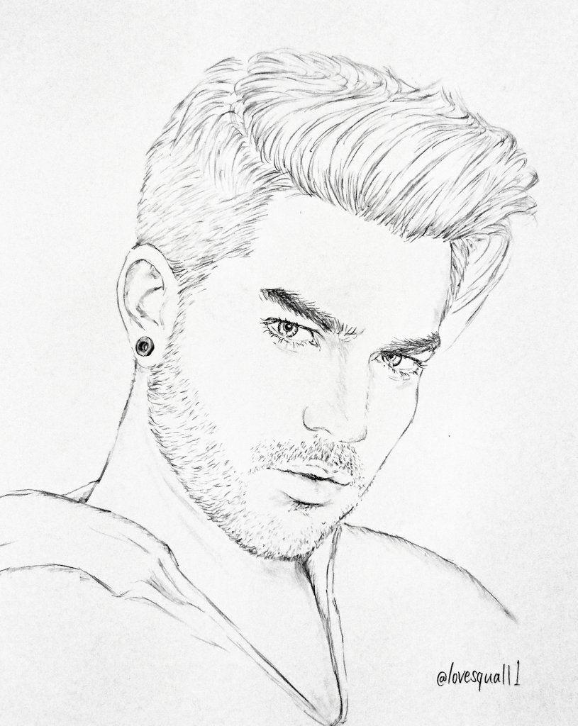 Fan Art Adam Lambert Drawings Art