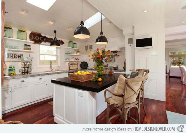 15 wonderfully made vintage kitchen designs | the old, open