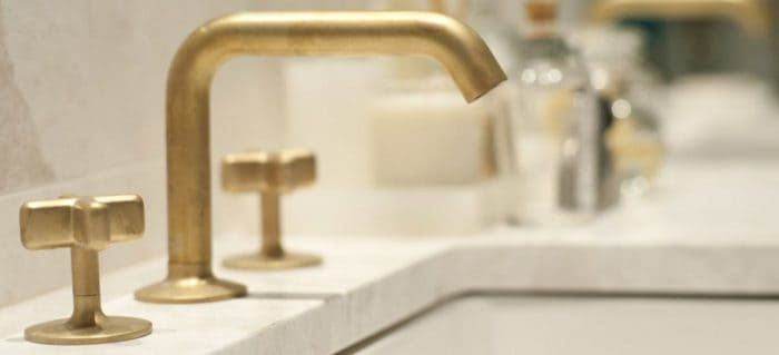 Photo of Cleaning options for bathroom fittings made of brass