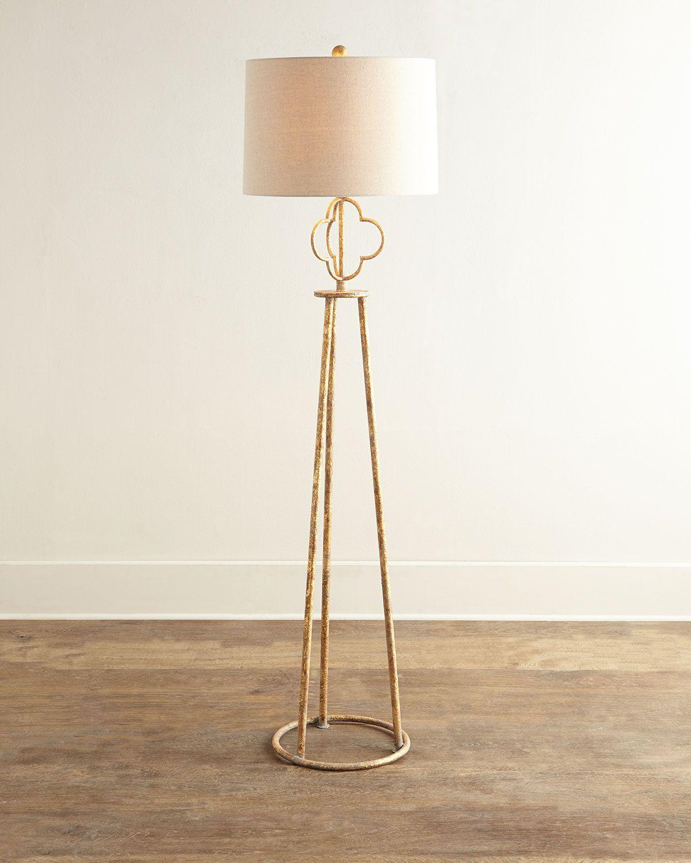 Florence Floor Lamp Floor lamp, Gold floor lamp, Floor