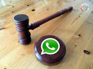Sem resposta de um réu que mora no exterior, um juiz de Tucuruí (PA) usou o aplicativo WhatsApp para avisá-lo da sentença pelo celular. E constatou que o homem havia sido notificado, devido às duas linhas azuis que costumam demonstrar que o usuário viu o conteúdo.