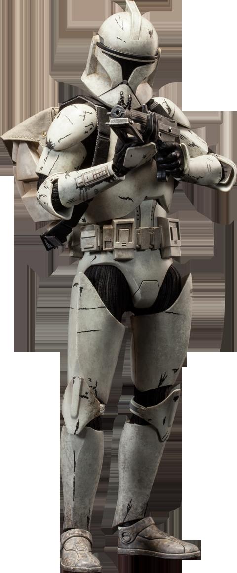 Star Wars Clone Trooper Deluxe Veteran Sixth Scale Figure B Star Wars Clone Wars Star Wars Trooper Star Wars