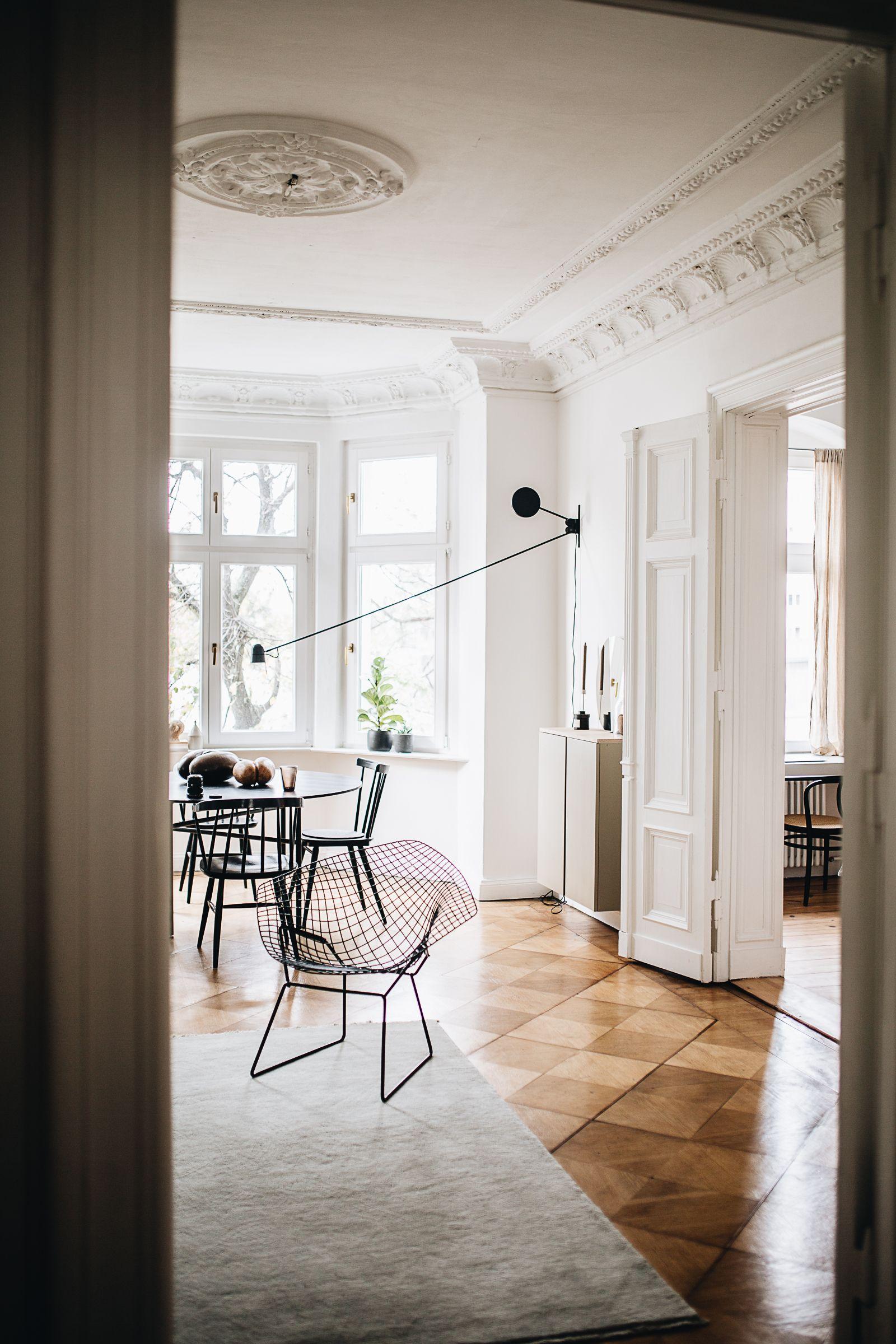 zu besuch bei selina lauck einrichtung pinterest skandinavischer stil altbauten und. Black Bedroom Furniture Sets. Home Design Ideas