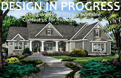Home Plan The Lucy By Donald A Gardner Architects Craftsman Style House Plans Craftsman House Plans Craftsman House